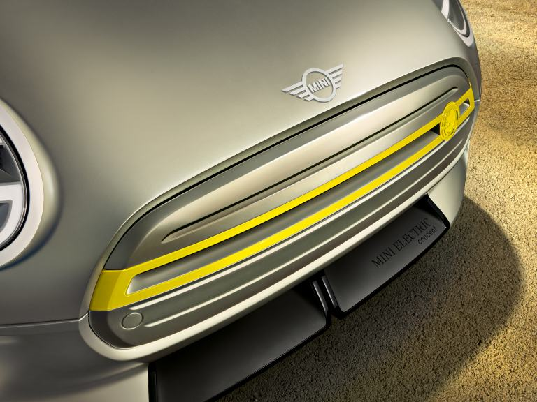 MINI Electric Concept – Close-up front